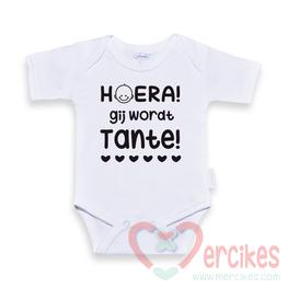 Body Hoera Gij wordt Tante! in het Vlaams