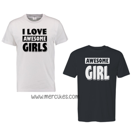 I love Awesome Girls - Awesome Girl