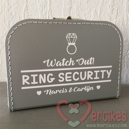 Koffer Watch Out Ring Security!