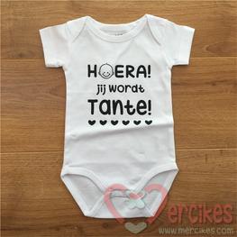 Romper Baby Hoera Jij wordt Tante!