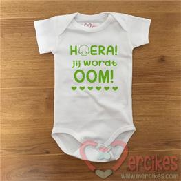 Romper Baby Hoera Jij wordt Oom!