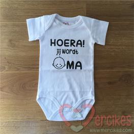 Romper Baby Hoera Jij wordt Oma