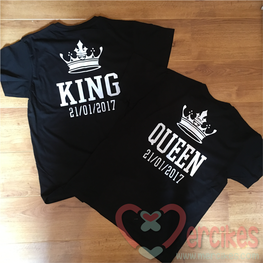 King en Queen met Datum