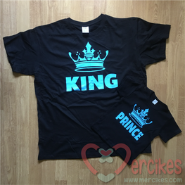 Matching Shirt Papa Zoon - King Prince