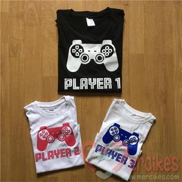 Matching Shirts Player 1 Player 2 Player 3