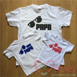 Matching Shirt Papa en MiniPapa