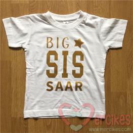 Shirtje - Big Sis met naam