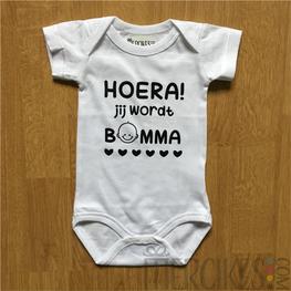 Body Baby Hoera Jij wordt Bomma!