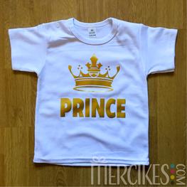 Shirtje  Prince met Kroon