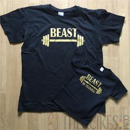 Twinning Shirts Beast - Beast in Training