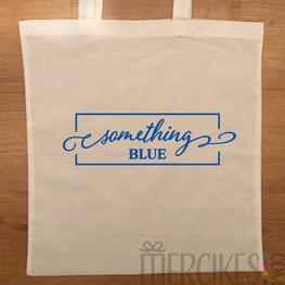 Tas voor bruiloft - Something Blue