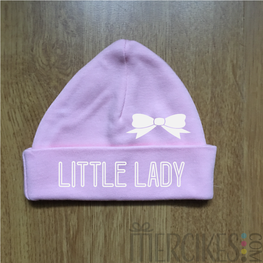 Babymutsje Little Lady met Strik