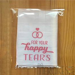 Zakdoek For Your Happy Tears
