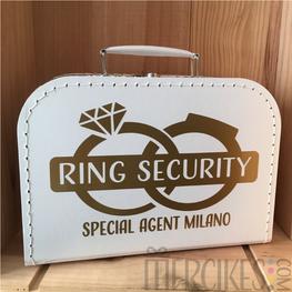 Koffer Ringsecurity Twee Ringen met Naam Special Agent