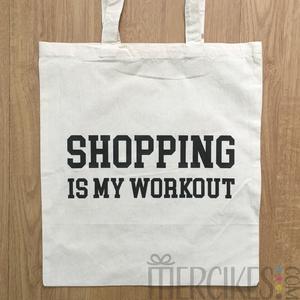 bedrukte tassen voor haar, shopping i my workout