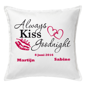 Persoonlijke Always Kiss Goodnight