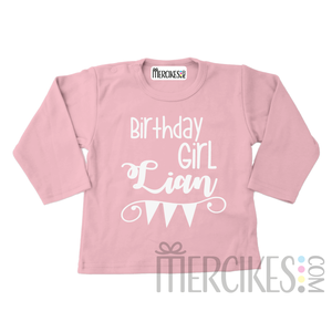 shirtje verjaardag meisje