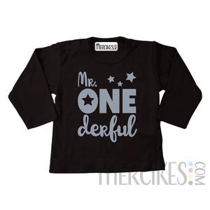 Shirt mr onederful ster - Lange mouw