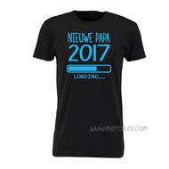 t-shirt nieuwe papa loading